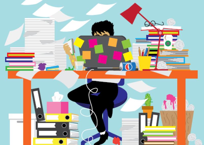 Άγχος στη Δουλειά: Πώς να το αφήνεις πίσω πιεστική δουλειά